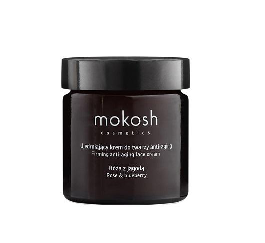 Mokosh (W) ujędrniający krem do twarzy Anti-Aging Róża z jagodą 60ml