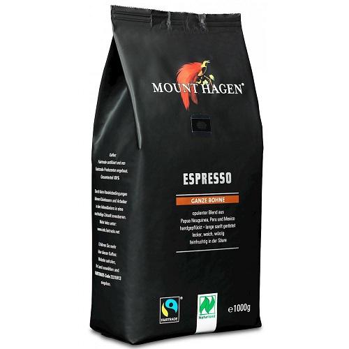 Mount Hagen kawa ziarnista Espresso BIO 1000g
