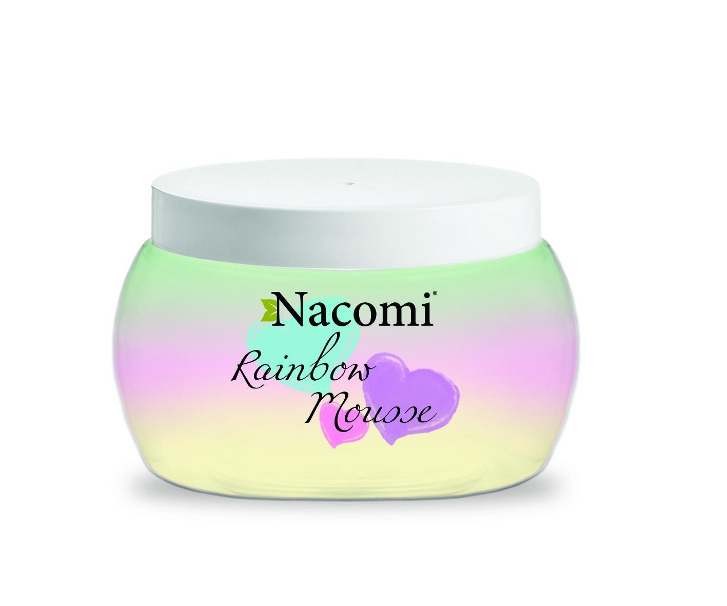Nacomi Rainbow Mousse (W) tęczowy mus do ciała 200ml