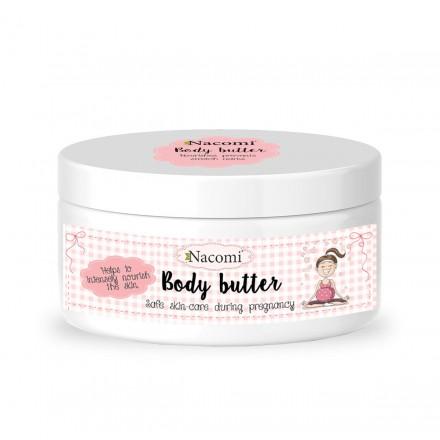 Nacomi Intensive Body Butter (W) nawilżające masło do ciała dla kobiet w ciąży 100ml