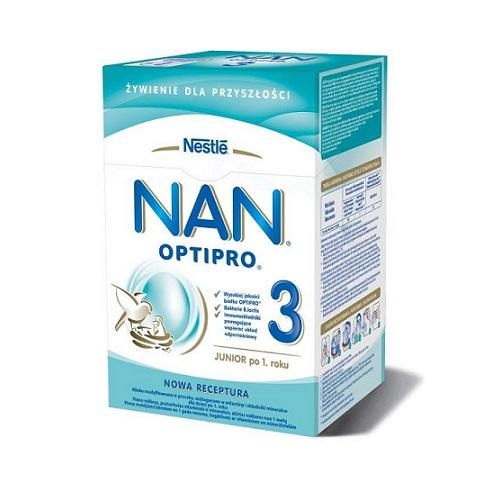 Nestle Nan Optipro 3 mleko modyfikowane dla dzieci po 1. roku 800g