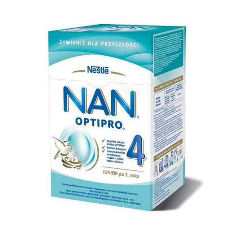 Nestle Nan Optipro 4 mleko modyfikowane dla dzieci po 2.roku 800g