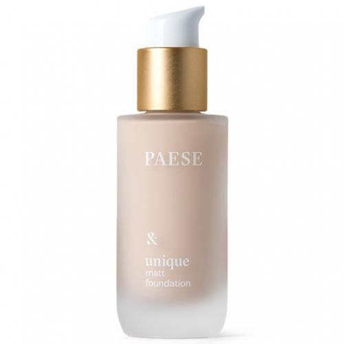 Paese Unique Matt Foundation (W) podkład do twarzy matujący 602N Light Beige 30ml