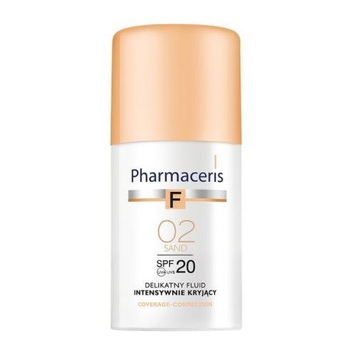 Pharmaceris F (W) delikatny fluid intensywnie kryjący SPF20 02 Sand 30ml