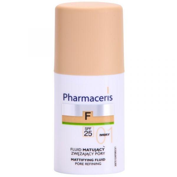 Pharmaceris F (W) fluid matujący zwężający pory SPF25 01 Ivory 30ml