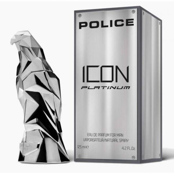 Police Icon Platinum (M) edp 125ml