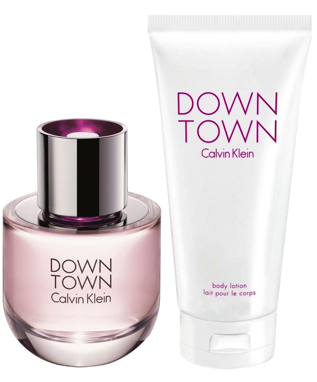 Zestaw prezentowy dla kobiet Calvin Klein Downtown woda perfumowana 90ml + balsam do ciała 200ml