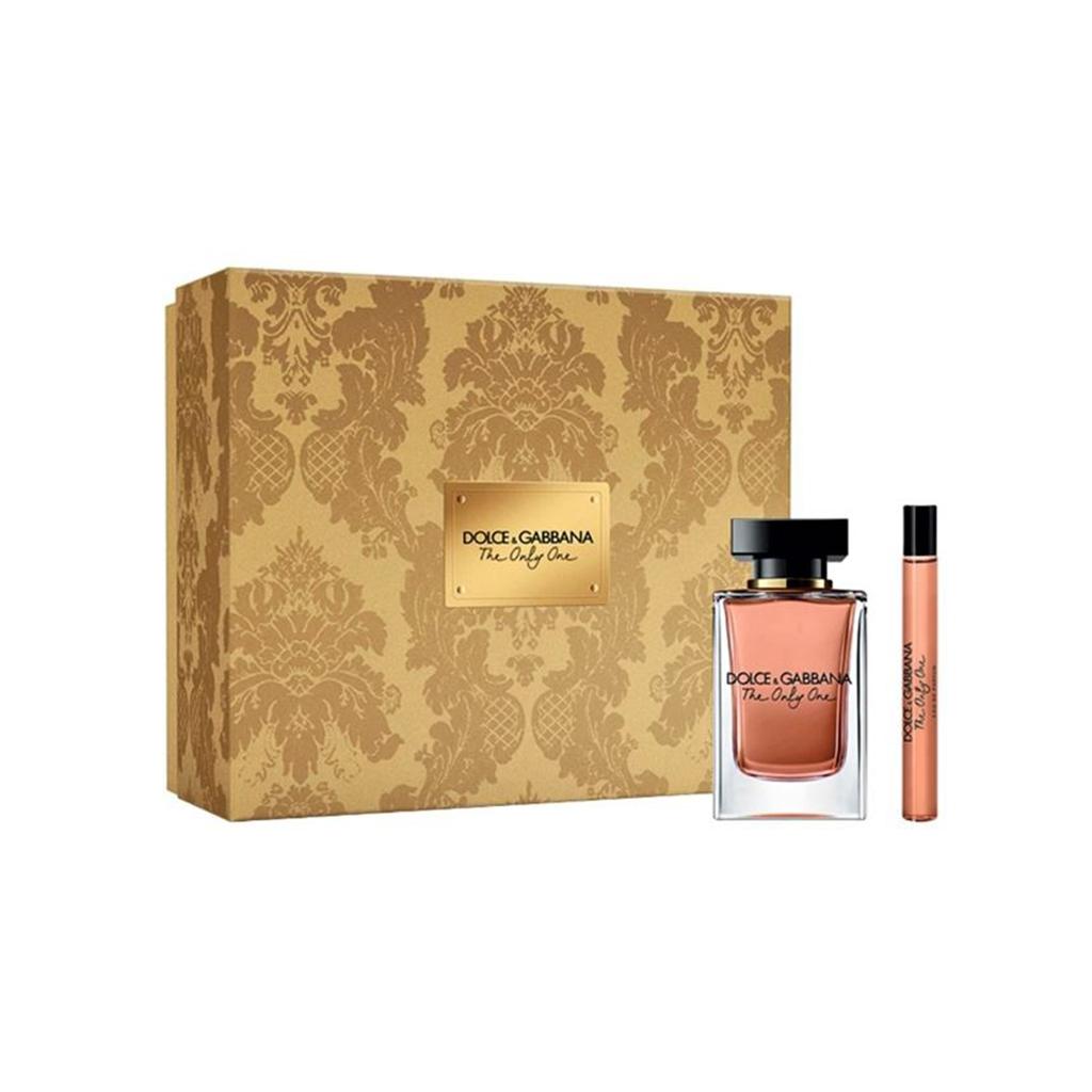 Zestaw prezentowy dla kobiet Dolce & Gabbana The Only One woda perfumowana 50ml + woda perfumowana 10ml