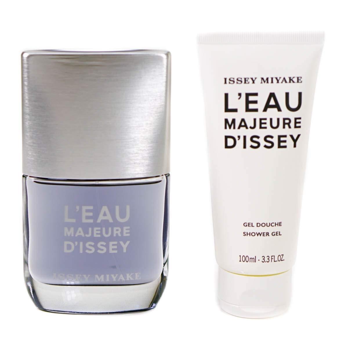 Zestaw prezentowy dla mężczyzn Issey Miyake L'Eau Majeure D'Issey woda toaletowa 50ml + blo 100ml