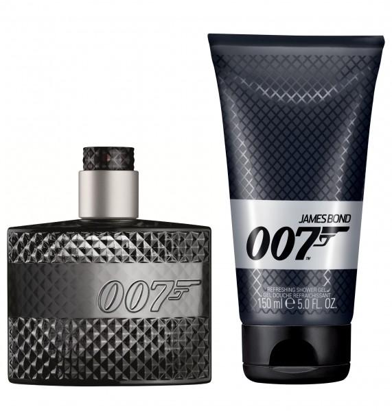 Zestaw prezentowy dla mężczyzn James Bond 007 woda toaletowa 50ml + żel pod prysznic 150ml