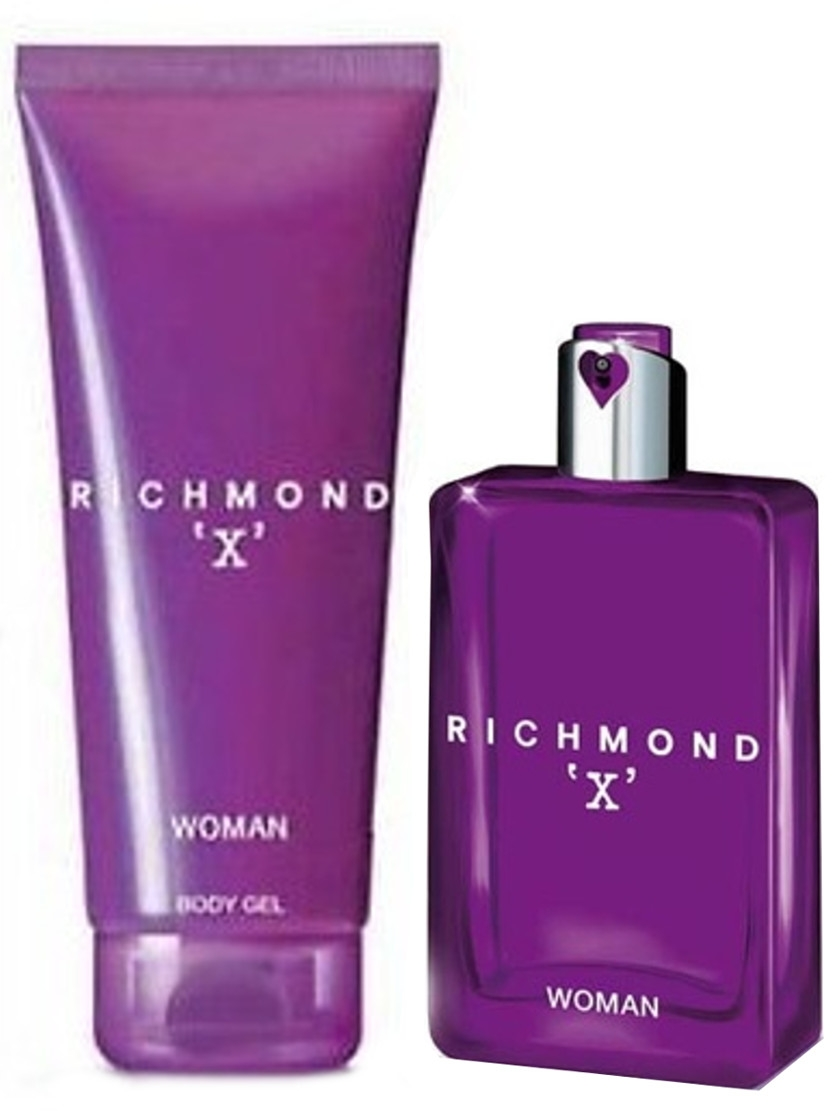 Zestaw prezentowy dla kobiet John Richmond Richmond X woda toaletowa 75ml + żel do ciała 150ml