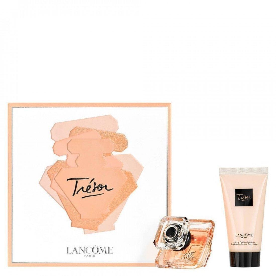 Zestaw prezentowy dla kobiet Lancome Tresor woda perfumowana 30ml + balsam do ciała 50ml