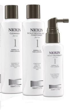 SET Nioxin Hair System Kit 1 (W) szampon 150ml + odżywka 150ml + kuracja 50ml