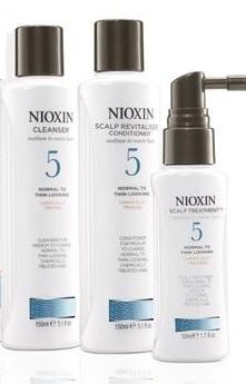 SET Nioxin Hair System Kit 5 (W) szampon 150ml + odżywka 150ml + kuracja 50ml