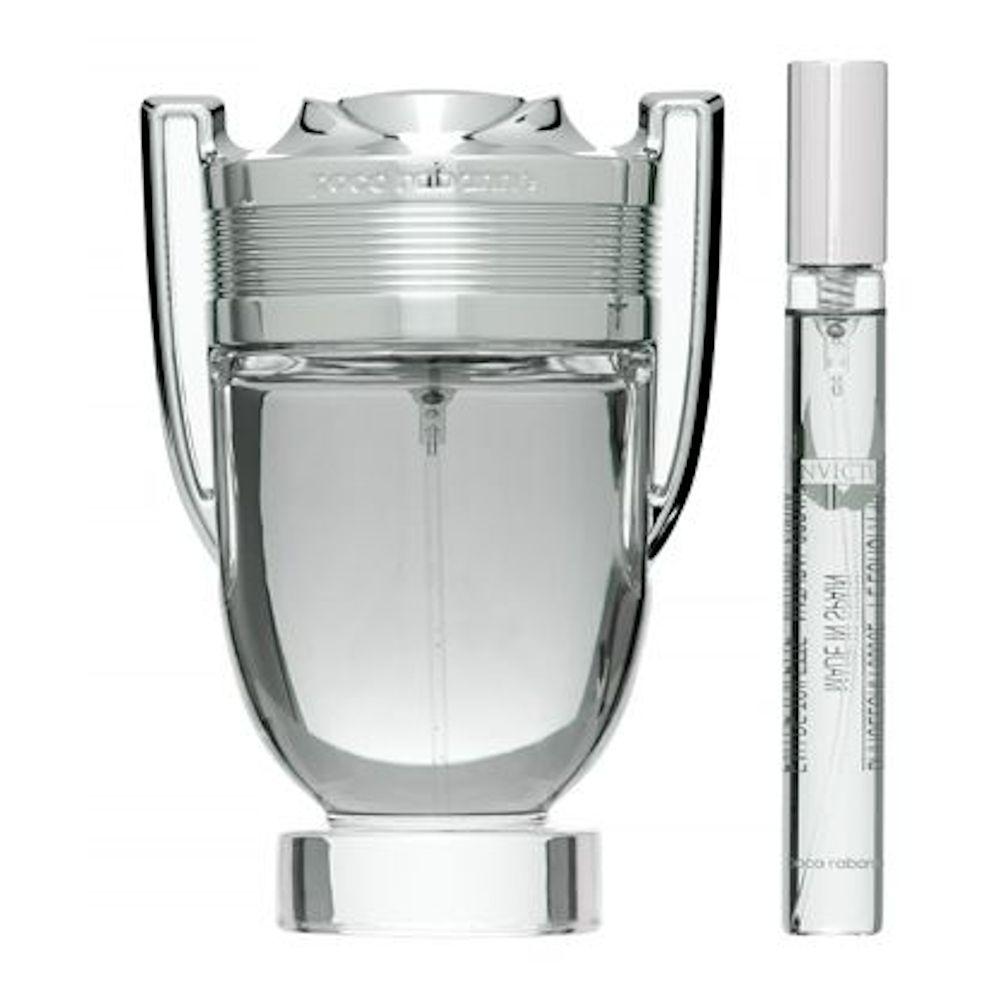 Zestaw prezentowy dla mężczyzn Paco Rabanne Invictus woda toaletowa 100ml + woda toaletowa 20ml