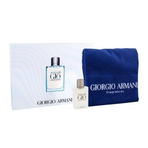 Zestaw prezentowy dla mężczyzn Armani Acqua Di Gio woda toaletowa 100ml + ręcznik