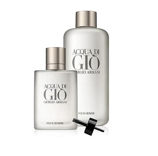 Zestaw prezentowy dla mężczyzn Armani Acqua Di Gio woda toaletowa 200ml (refil) + woda toaletowa 50ml
