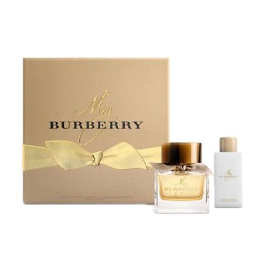 Zestaw prezentowy dla kobiet Burberry My Burberry woda perfumowana 90ml + balsam do ciała 75ml