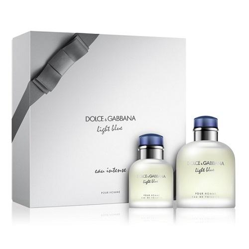 Zestaw prezentowy dla mężczyzn Dolce & Gabbana Light Blue Pour Homme woda toaletowa 125ml + woda toaletowa 40ml