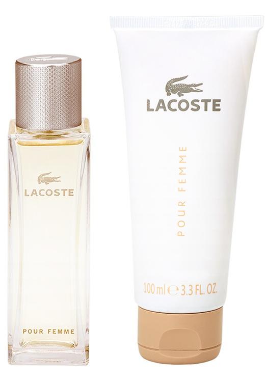 Zestaw prezentowy dla kobiet Lacoste Pour Femme woda perfumowana 50 ml + balsam do ciała 100 ml