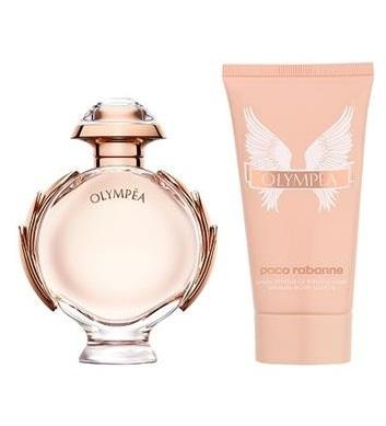 Zestaw prezentowy dla kobiet Paco Rabanne Olympea woda perfumowana 50ml + balsam do ciała 75ml