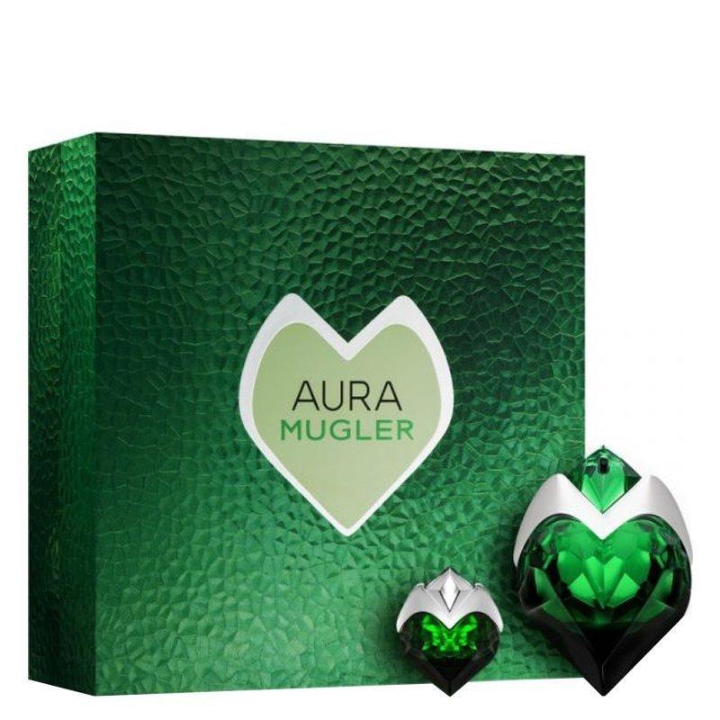 Zestaw prezentowy dla kobiet Thierry Mugler Aura woda perfumowana 50ml + woda perfumowana 5ml
