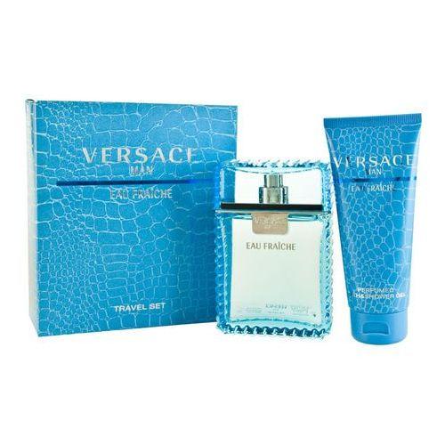 Zestaw prezentowy dla mężczyzn Versace Man Eau Fraiche woda toaletowa 100ml + żel pod prysznic 100ml