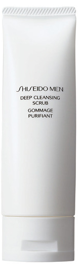 Shiseido Men Deep Cleansing Scrub (M) peeling do twarzy 125ml