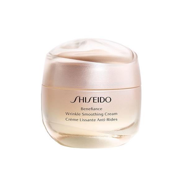Shiseido Benefiance Wrinkle Smoothing Cream (W) przeciwzmarszczkowy do twarzy na dzień i na noc 50ml