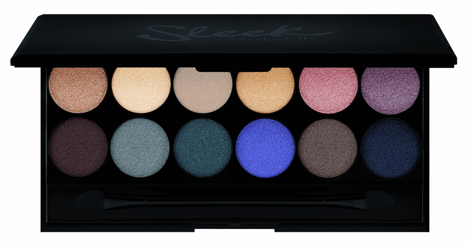 Sleek Makeup iDivine (W) paleta 12 cieni do powiek Storm 9g