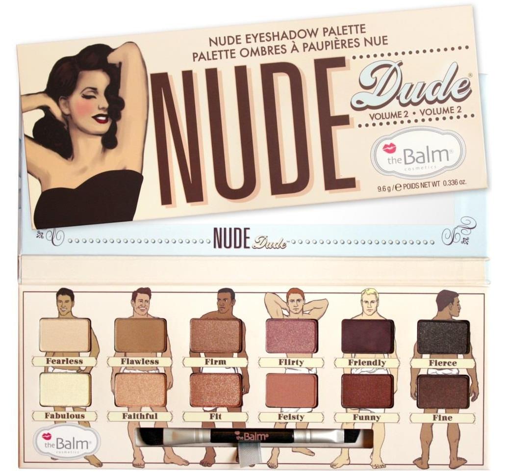 The Balm Palette (W) paleta 12 cieni do powiek Nude'Dude 9,6g